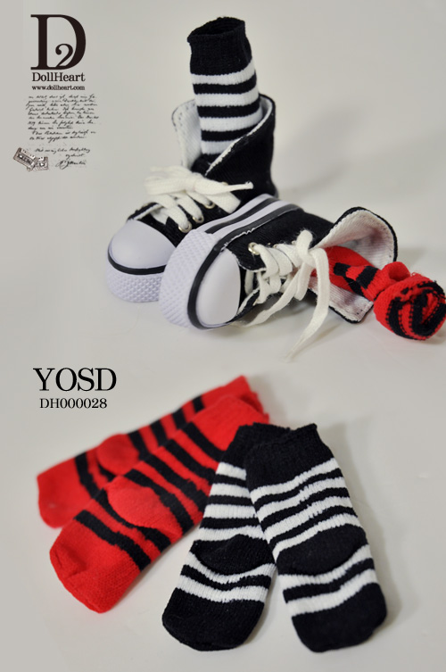 DH000028 YOSD Striped Socks Set