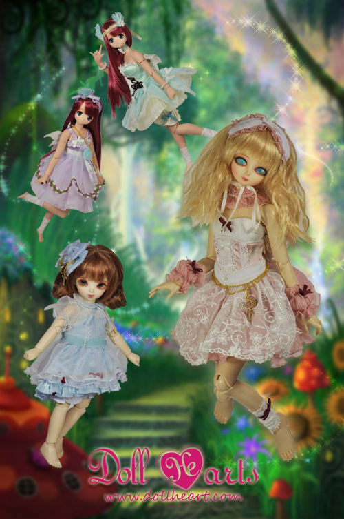 [Pre-order] DH000378 The Rainbow Fairies SET