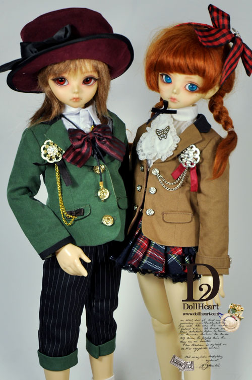 [Pre-Order] [D2 MSD] DH000379 Faith & Jacob SET