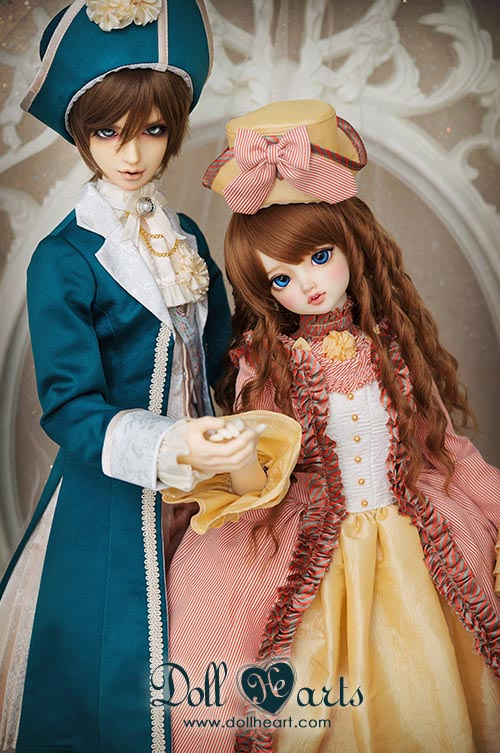 DH000412 [Dollism 10th Anniversary] Palace Set C