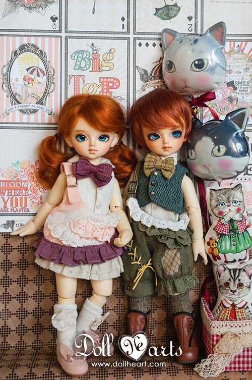 DH000418 LITTLE SET [Little Boy & Girl]