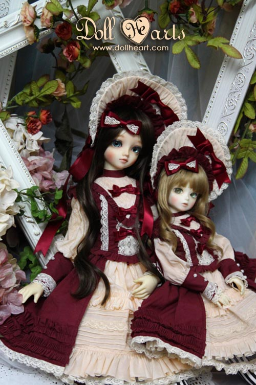 DH000442 Red Suit SET [Design by Melon's Kingdom]