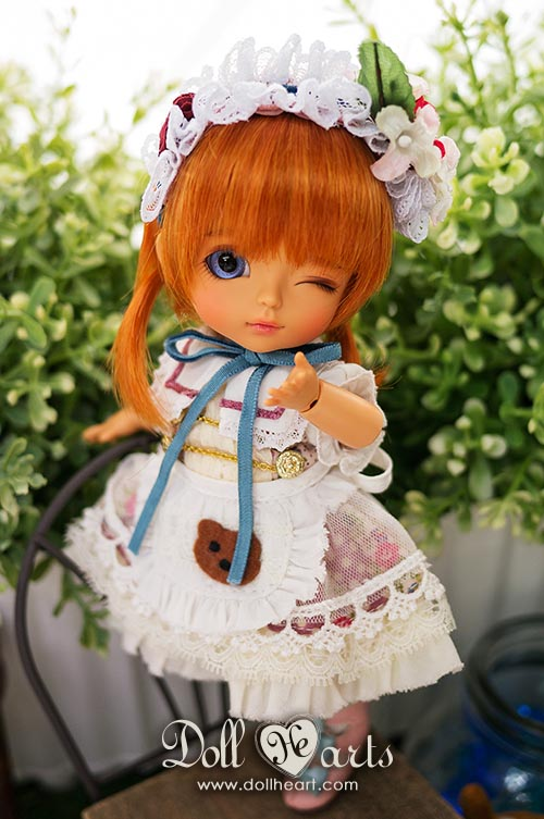ID000041 White Dolly [Cute Dolly]