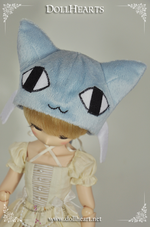 LA000143 Blue Kitten Hat ( 8-9 inches )
