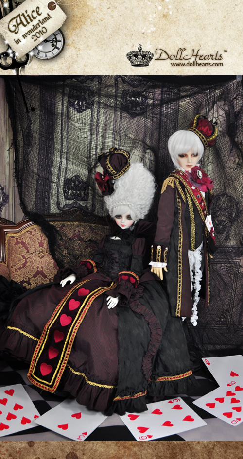 DH000061- Queen of Hearts & King of Hearts SET