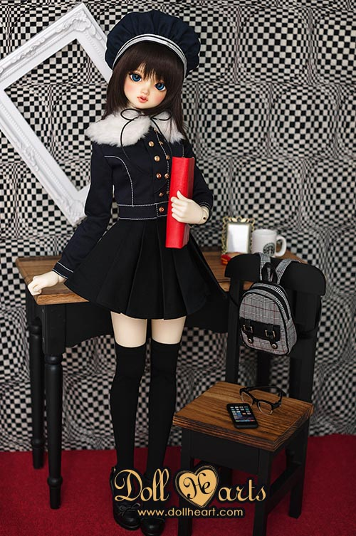 [Pre-order] [School Time] LD000719 Winter Uniform SD10/13 Girl V