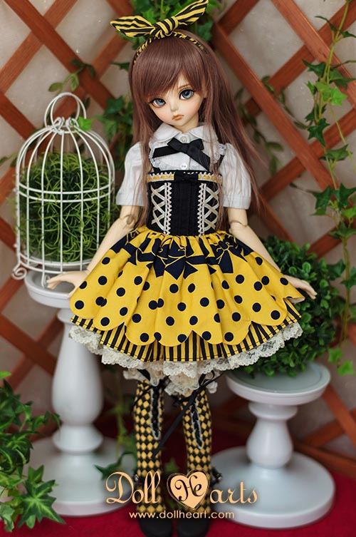 [Pre-order] MD000265 Crazy Dots Yellow Ver