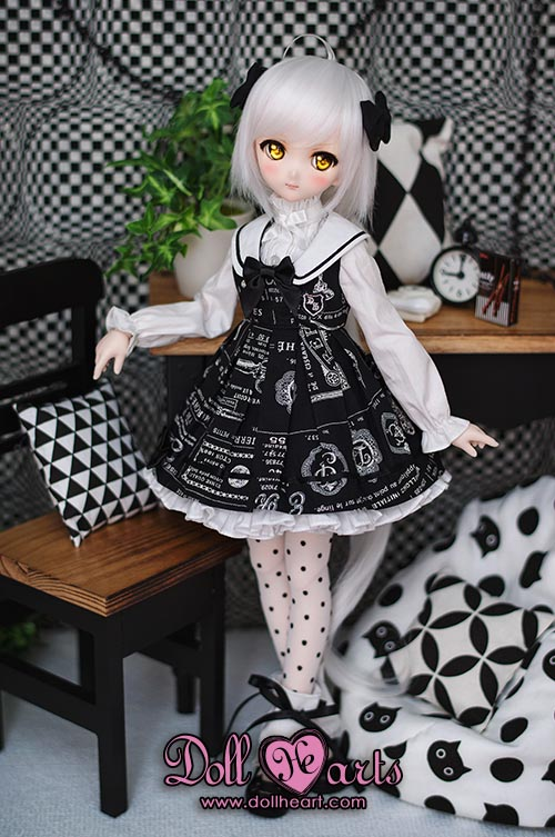 [Pre-order] MD000266 Mini Scholar Dress Black Ver